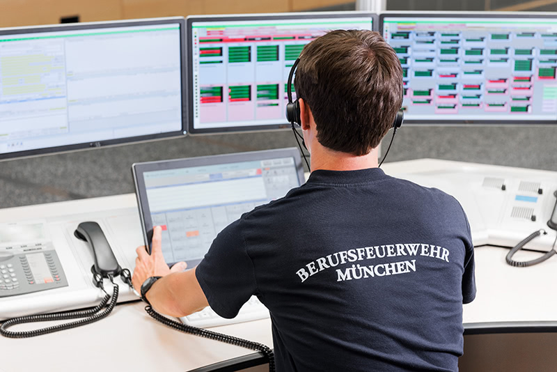 Mitarbeiter der ILS München