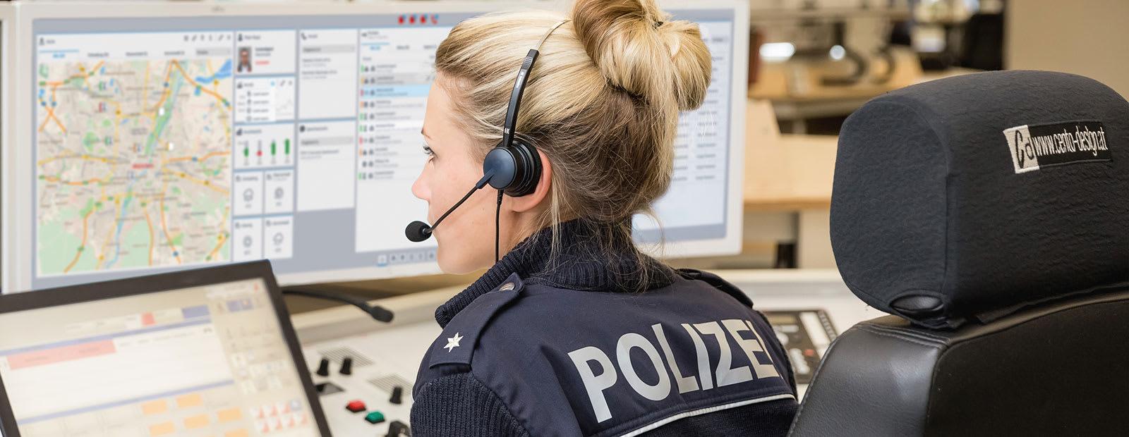 eurofunk Einsatzkräfte Polizei