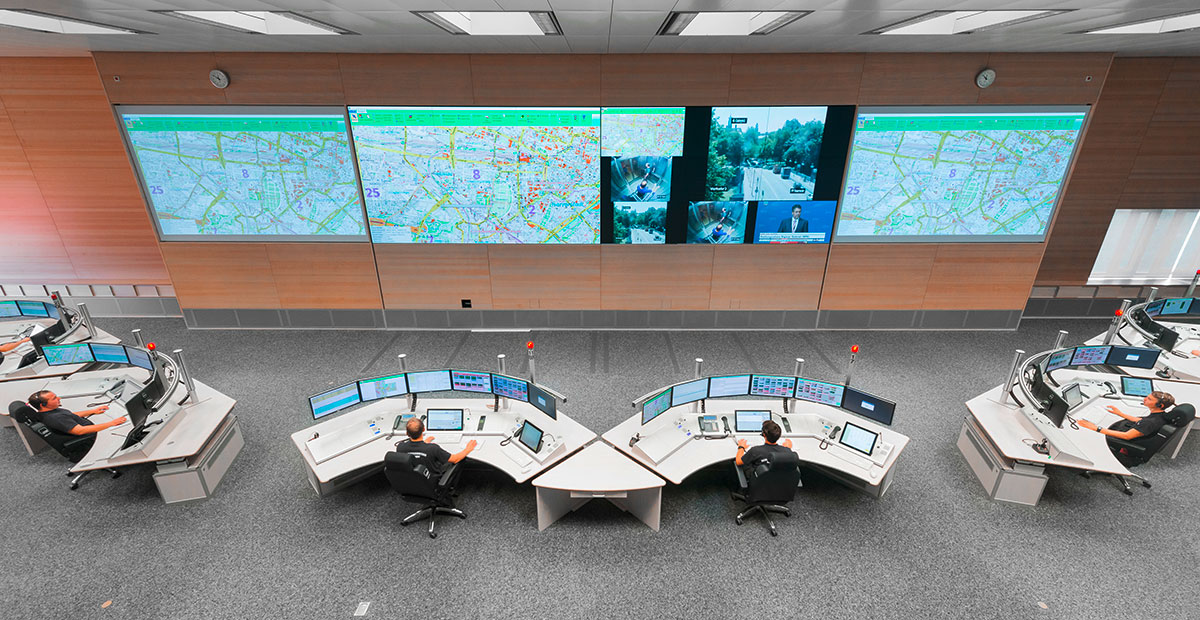 eurofunk videowall lösung