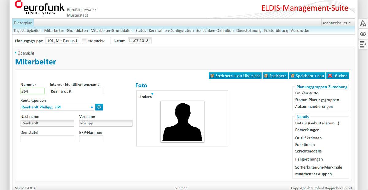 eldis management suite