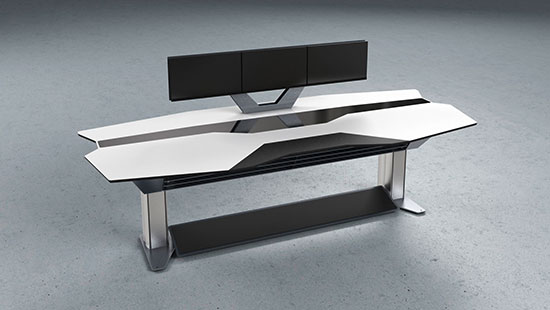 edesk straight table