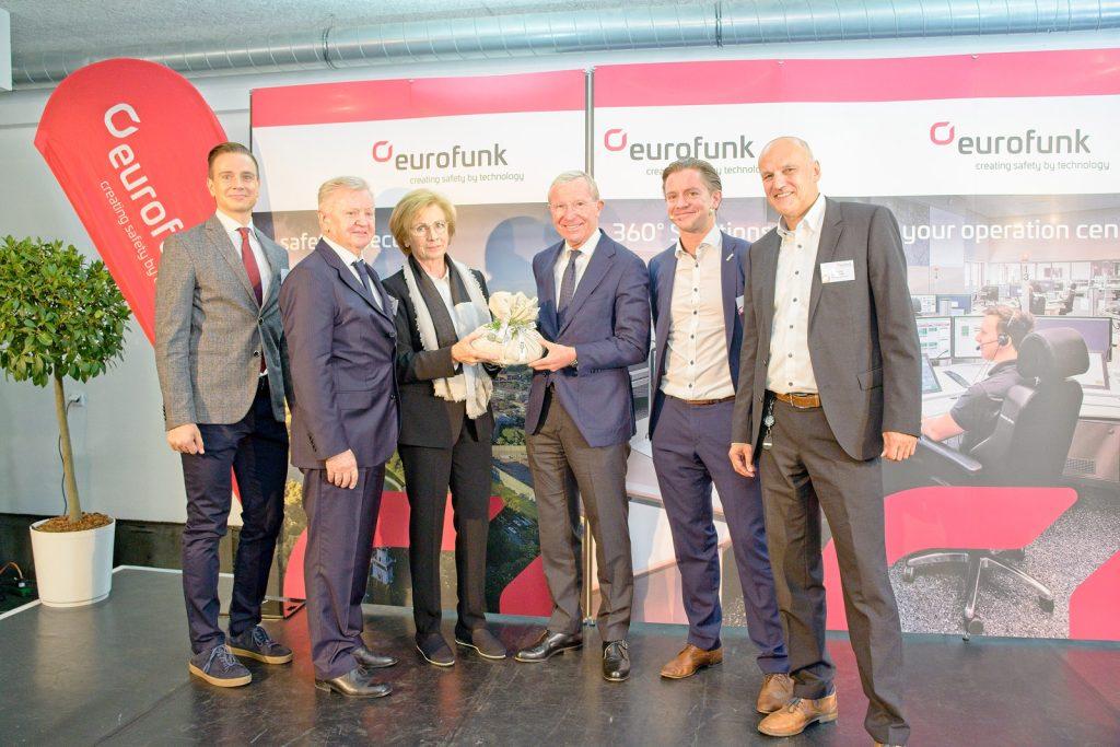 Eröffnung eurofunk Innovation Office Salzburg GF