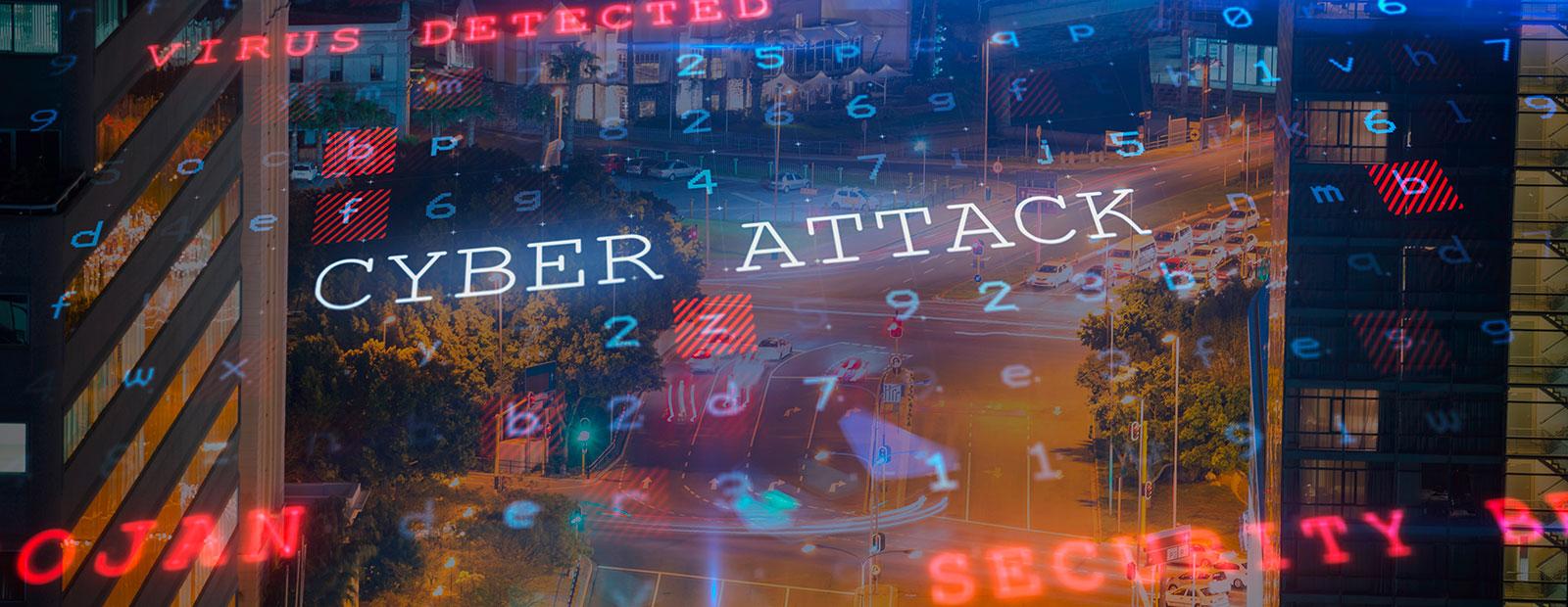 cyber attack grafik